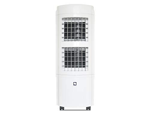 M Confort E2000 Climatizador Evaporativo Portátil, 90 Watts, 30 L, 4 Velocidades, Doble Ventilador Centrífugo, 97 x 38 x 35 cm