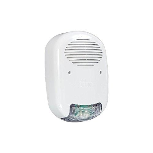 Ivy B inim Antirrobo Alarma Casa sirena autoalimentada para exterior con interfaz i-bus