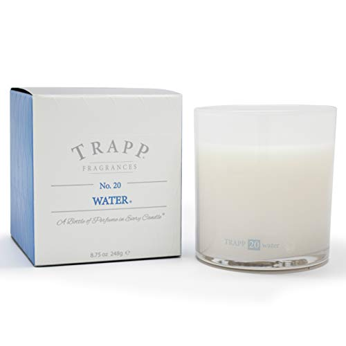 Trapp Ambiance Collection No. 20 Water Poured Scented Candle, 8.75 Ounces