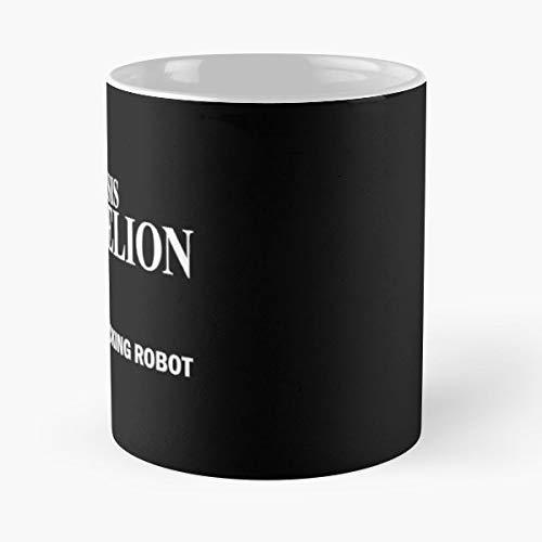 Evangelion Neon Genesis Get in The Fucking Robot Best 11 oz Tasse à Café - Tasse De Motifs De Café Cadeau