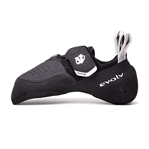 Evolv Phantom Kletterschuhe, Black-White, UK 9.5