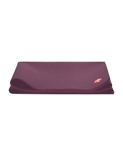 Manduka Pro Reise-Yogamatte, 2,5 mm dünn, leicht, rutschfest, ungiftig, umweltfreundlich, 180 cm lang – hergestellt mit dichter Polsterung für Stabilität und Unterstützung (116011-47514)