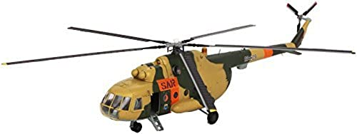 Easy Model 1 72 Scale Mi-8 Hip-C Gerhomme Army Rescue Group No93+09 Model Kit by Easymodel