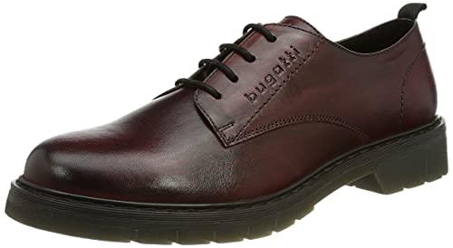 bugatti Damen Modena Oxford-Schuh, red, 38 EU