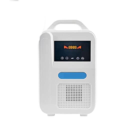WFWPY Oxígeno Generador Eléctrico, Máquina De Oxígeno Portátil Coche Inicio Concentrador De Oxígeno para Ancianos Y Mujeres Embarazadas, 40%-48%
