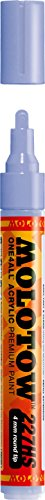 MOLOTOW One4all Acrylic Paint Markers 4 mm, Blue Violet Pastel 209 (227.228)