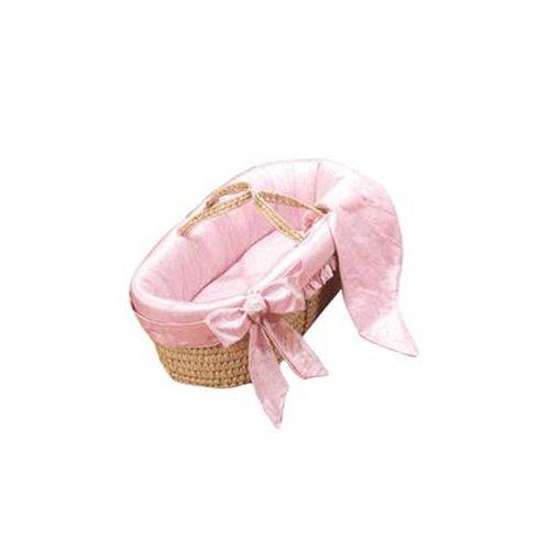 bkb Prima Donna Moses Basket, Pink