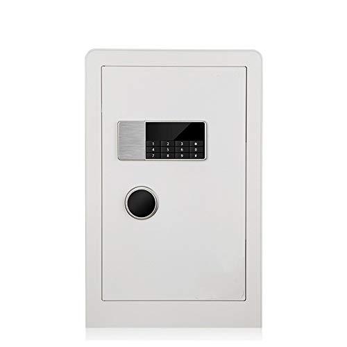 Huangwanru Tresore Kennwort Cabinet Key Storage Cabinet Elektronische Passwort Startseite Sicher abgesicherte Office Für Schmuck Gelddokument Laptop Home Office (Farbe : Weiß, Größe : 60x38x36cm)