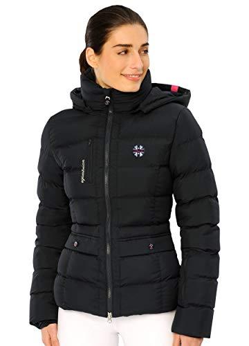 SPOOKS Damen Jacke, leichte Damenjacke mit Kapuze, Herbstjacke - Finja Jacket - Navy XL