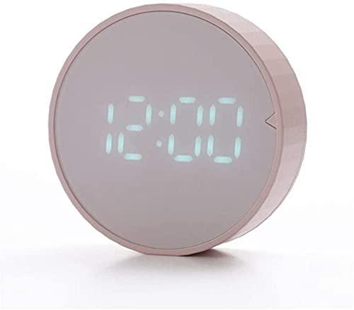 Väckarklockor, klocka Ny Home Desk Alarm Tunga släcker bord Sovrum Kids Desk Electric Digital Display 12/24 timmar Kylskåp Klistermärke, A