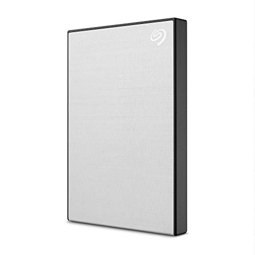 Seagate One Touch 2TB External Hard Drive HDD – Silver USB 3.0 for PC Laptop and Mac, 1 year MylioCreate, 4 Months Adobe Creative Cloud Photography Plan (STKB2000401)