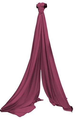 SchenkSpass Vertikaltuch 7m (Meter) für 3-4m Deckenhöhe (tissus, Aerial Fabric) (Maroon)
