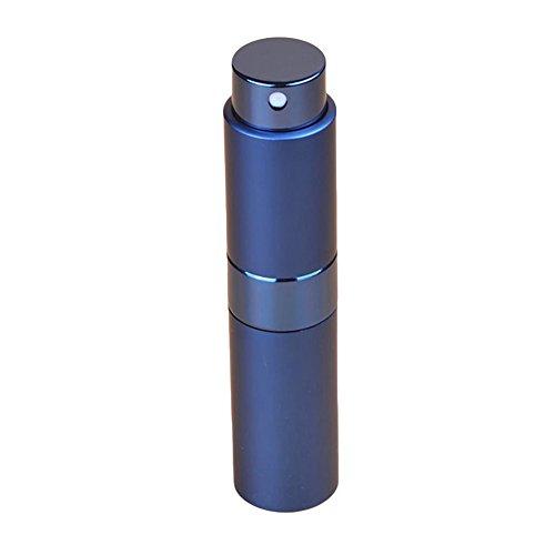 seawood Reiseflasche, tragbar, 8 ml, Parfümzerstäuber, Flasche, Pump-Spray, Werkzeug, leicht, ideal für Reisen, nachfüllbar, praktisch blau