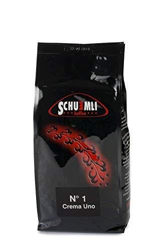 SCHUEMLI Nr. 1 Crema Uno - exquisiter Schümli Kaffee in ganzen Bohnen aus Langzeitröstung 1 kg