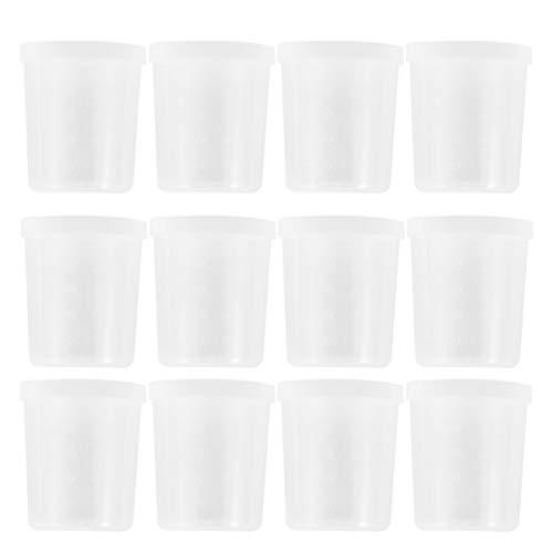 Vasos Plastico Con Tapa 100Ml vasos plastico  Marca UPKOCH