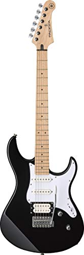 Yamaha Pacifica 112VM - Guitarra eléctrica negra de alta calidad con un diseño elegante para principiantes y guitarras en línea