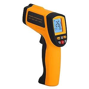 Termometro a infrarossi 900, termometro portatile emissività regolabile per la misurazione della temperatura della piscina o la misurazione della temperatura degli alimenti
