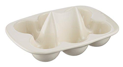 Mason Cash Innovative Kitchen Stoneware Egg Store, 19cm, White 28497