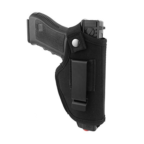 GMWD Concealed Carrying Holster, Universal Pistol Holster Waistband Holster Handgun Elastic Holder for All Similar Pistols