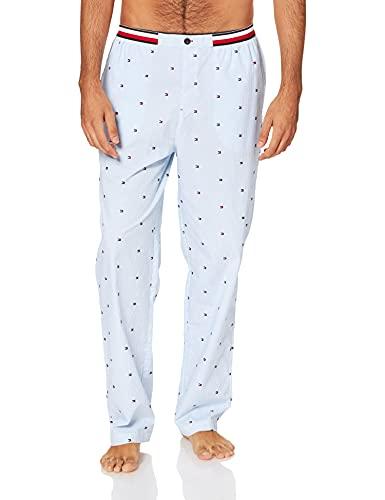 Tommy Hilfiger Woven Pant Pantaln de Pijama, Ithica Stripes, M para Hombre