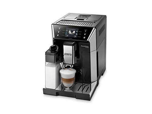 DELONGHI ECAM 550.55 Independent. SB Fully Automatic 2L Stainless Steel Cafetiere – Freestanding, Coffee Machine in Capsules, 2 L, Mill Built-in, 1450 W, 2 liters