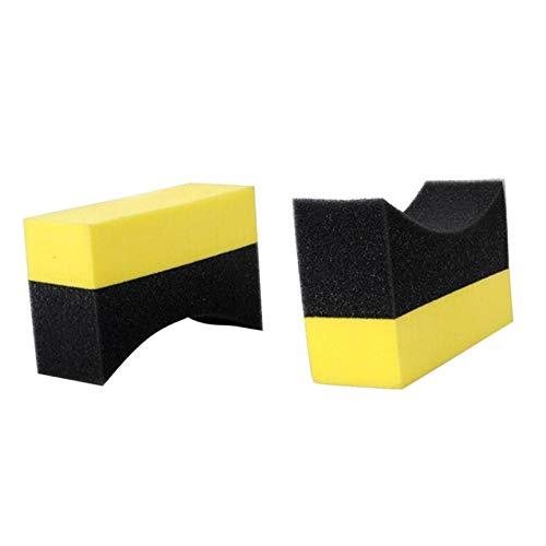 Xianggujie Cepillo de neumáticos de Coche Limpieza de automóviles Accesorios de Esponja (Size : A)