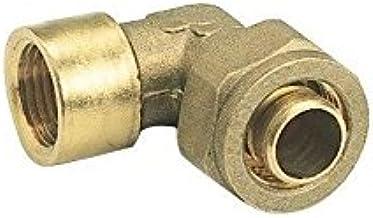 SOMATHERM FOR YOU - Raccord coudé à compression (à visser) pour tube PER Ø20 - Femelle 20/27 (3/4'')