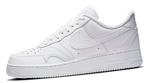 Nike Air Force 1 '07 LV8 2, Scarpe da Basket Uomo, White/White-White, 42.5 EU