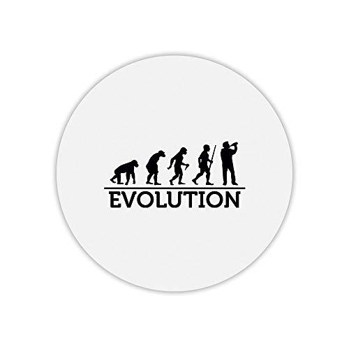 Mauspad, rund, Evolution Bier 2
