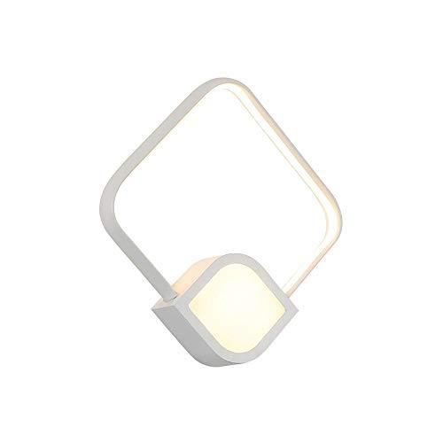 SWNN E27 Minimalista Moderno LED Hierro Material Acrílico Lámpara De Pared Irradiación Área 5-10 Metros Cuadrados Accesorios De Iluminación