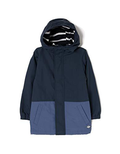 ZIPPY ZB0102_455_7 Abrigo, Azul (Dress Blue 185), (Tamaño del Fabricante:3/4) para Niños