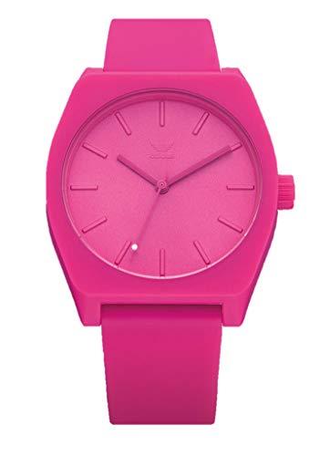 Adidas Unisex Analog Quarz Uhr mit Silikon Armband Z10-3123-00