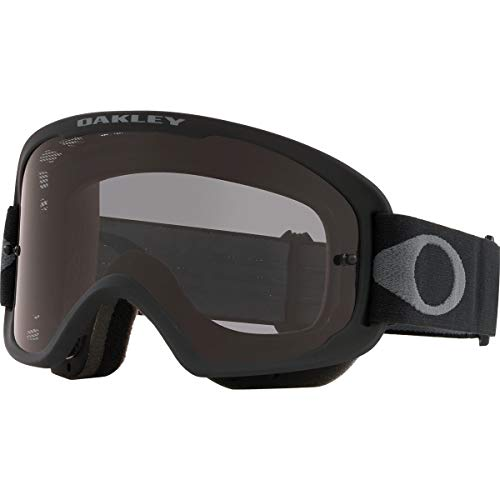 Oakley O Frame 2.0 PRO Men's Off-Road BMX Cycling Goggles - Black Gunmetal/Dark Grey/One Size