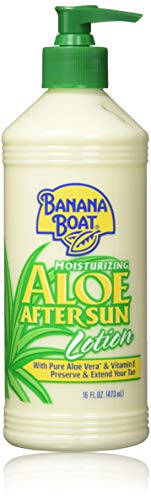 Banana Boat After Sun Lotion Aloe, 16 Fl Oz. (Pack of 2)