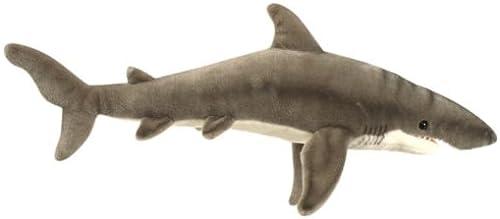 Great Weiß Shark Plush Toy By Hansa 24 by Hansa