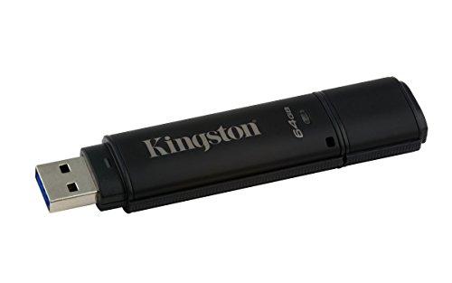 Kingston Dt4000 G2 - Memoria USB 3.0 de 64 GB (Fips 140-2 Level 3)
