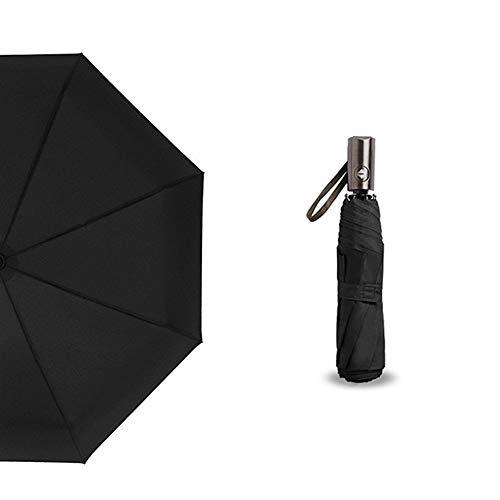 Paraguas Automático 3 Plegable Mango Aureate Gran Paraguas Lluvia Mujeres Hombres de Negocios de Lujo A Prueba de...