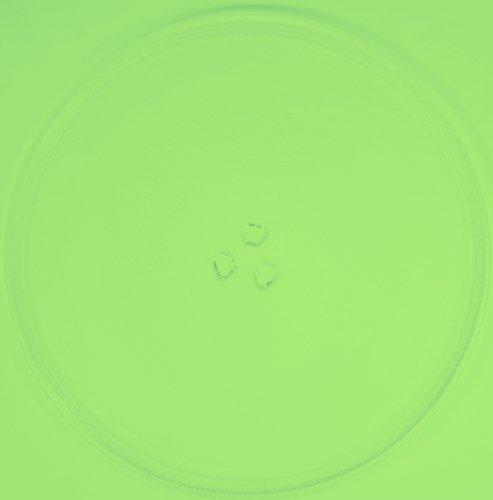 Mikrowellenteller / Drehteller / Glasteller für Mikrowelle # ersetzt Superior Mikrowellenteller # Durchmesser Ø 34 cm / 340 mm # Ersatzteller # Ersatzteil für die Mikrowelle # Ersatz-Drehteller # OHNE Drehring # OHNE Drehkreuz # OHNE Mitnehmer