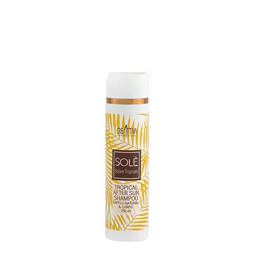 Creattiva Solè Tropical After Sun Shampoo Capelli Naturali & Corpo 250ml - Shampooing après - soleil