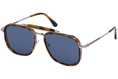 Tom Ford Hombre gafas de sol Huck FT0665, 53V, 58