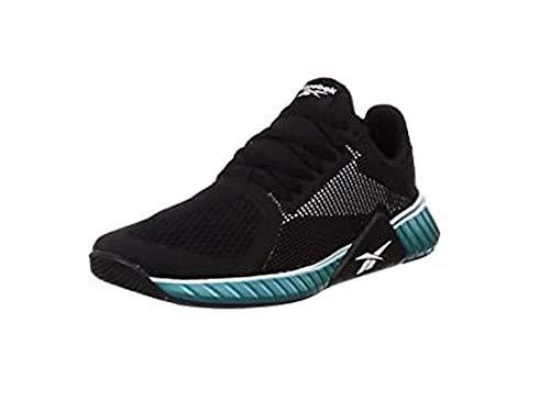 Reebok Herren Flashfilm Train Leichtathletik-Schuh, Multicolor (Schwarz/Weiss/Seatea), 46 EU