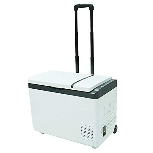 NMSLA Mini Refrigerador para Refrigeradores Refrigeradores Portátil Compresor Vehículo Congelador Camping Eléctrico Refrigerador Caja 30L Coche RV Barco para Conducir Aire Libre Viaje