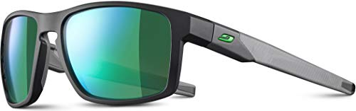 Julbo Stream - Gafas de sol para hombre, gris/verde, FR: L (talla fabricante: L)