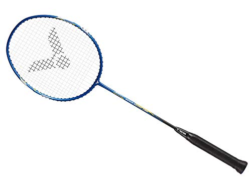Victor Brave Sword 1900 G5 Speed Series Strung Badminton Racket (Available in 3 Colors) (4U, Royal Blue)