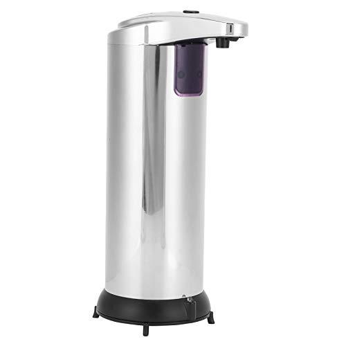 Uxsiya Oxidado-libre de plata de ingeniería de plástico, dispensador de inducción, dispensador de jabón, dispensador sin tacto, para hoteles para restaurantes