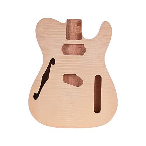 Lepeuxi Muslady TL-FT03 Corpo della chitarra incompiuto Corpo in legno di mogano Chitarra vuota per chitarre elettriche stile TELE Parti fai da te