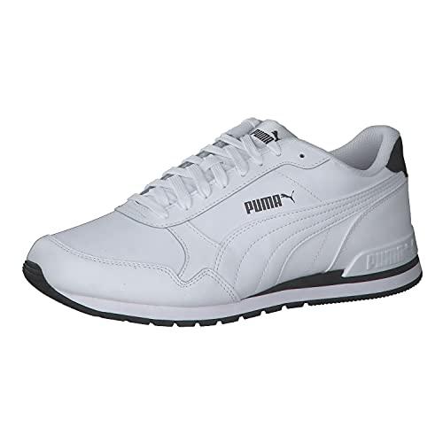 PUMA Unisex ST Runner v2 Full L Sneaker, White White, 42 EU