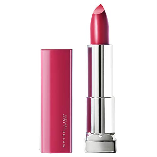 Maybelline New York Color Sensational Made for All Lipstick, Fuchsia For Me, Satin Pink Lipstick