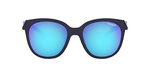 Oakley NFL - Gafas de sol para mujer - OO9433, 54mm, Matte Navy/Prizm Sapphire