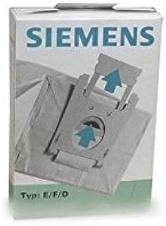 SIEMENS-Lote de bolsas para aspirador (x5) tipo e/f/d para ...